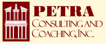 Petra Consulting                       & Coaching Logo